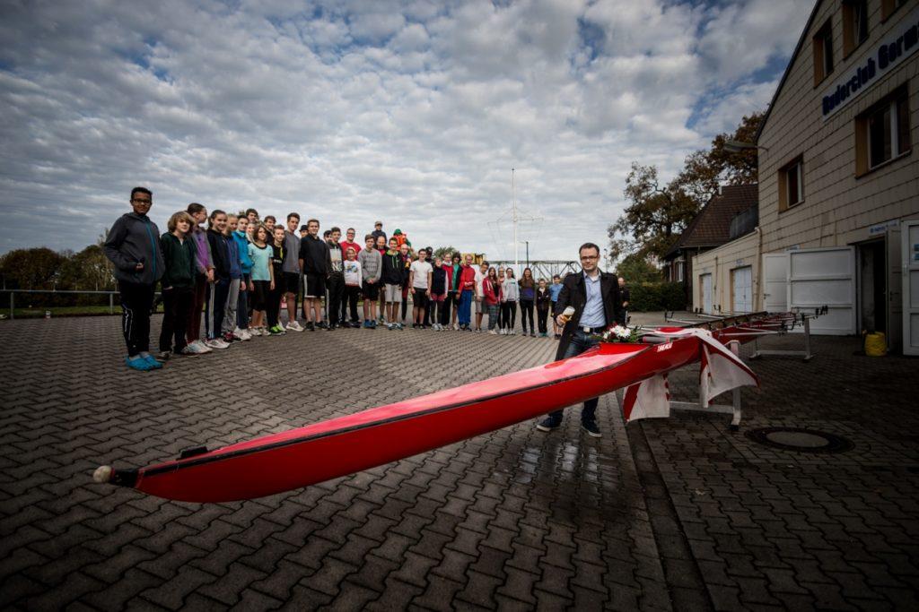 2016 Ruderriege Bootstaufe Max-Planck-Gymnasium Dortmund