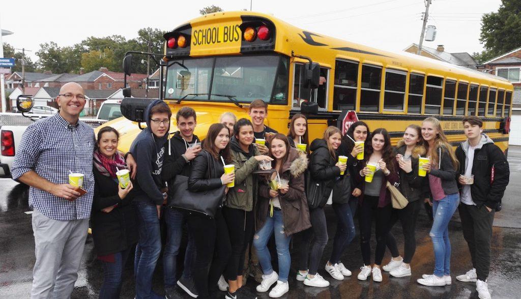 School Bus -USA-Austausch St. Louis