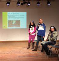 Podiumsdiskussion zum Palmölanbau in Brasilien